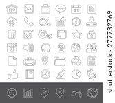 line icons   web | Shutterstock .eps vector #277732769