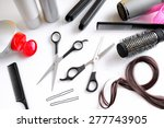 set hairdressing articles... | Shutterstock . vector #277743905