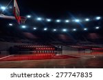 Basketball Court. Sport Arena....