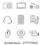 gadget icon design  vector... | Shutterstock .eps vector #277773341