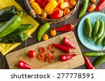 assorted colorful varieties of... | Shutterstock . vector #277778591