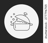 pot line icon | Shutterstock .eps vector #277796705