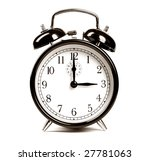 alarm clock | Shutterstock . vector #27781063
