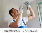 building  renovation ... | Shutterstock . vector #277826261