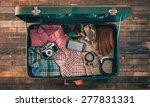 Vintage Hipster Traveler...
