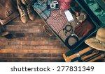 Vintage Hipster Suitcase...