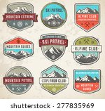 set of 9 vector high quality... | Shutterstock .eps vector #277835969