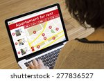 apartment search online concept ... | Shutterstock . vector #277836527