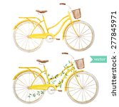 Vector Watercolor Yellow...