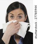 women with allergies | Shutterstock . vector #27785944