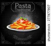 pasta traditional | Shutterstock .eps vector #277877807