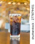 cola glass on bokeh background | Shutterstock . vector #277879451