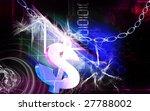 digital illustration of dollar... | Shutterstock . vector #27788002