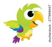 a cartoon vector illustration... | Shutterstock .eps vector #277898447