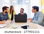 start up team | Shutterstock . vector #277901111