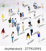 diverse diversity ethnic...   Shutterstock . vector #277913591