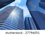 business buildings   Shutterstock . vector #27796051