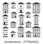 buildings set.  | Shutterstock .eps vector #277964201