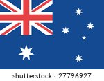 official flag of australia | Shutterstock . vector #27796927