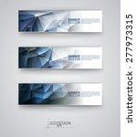 business design templates. set... | Shutterstock .eps vector #277973315