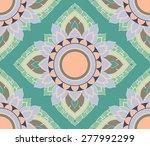 amaryllis floral sweet vintage... | Shutterstock .eps vector #277992299