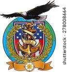 us navy eagle | Shutterstock .eps vector #278008664