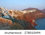 view at the caldera and a... | Shutterstock . vector #278010494