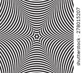 abstract vector black and white ... | Shutterstock .eps vector #278015207