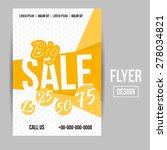 abstract vector creative sale... | Shutterstock .eps vector #278034821