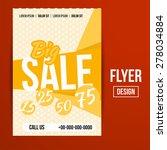 abstract vector creative sale... | Shutterstock .eps vector #278034884