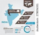 india map infographic | Shutterstock .eps vector #278056331