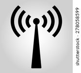 wi fi icon | Shutterstock .eps vector #278058599