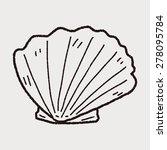 shell doodle   Shutterstock . vector #278095784