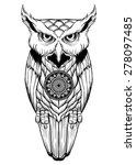 spirit owl | Shutterstock .eps vector #278097485