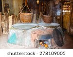 traditional salt making by... | Shutterstock . vector #278109005