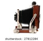 Vintage Wood Camera