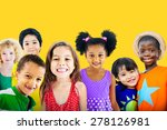 diversity children friendship... | Shutterstock . vector #278126981