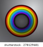 rainbow sign implemented in a