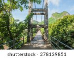 the suspension bridge over the... | Shutterstock . vector #278139851