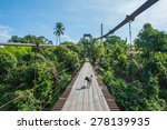 the suspension bridge over the... | Shutterstock . vector #278139935
