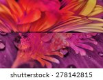 abstract flowers background   Shutterstock . vector #278142815