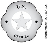 abstract symbol officer to... | Shutterstock .eps vector #278164265