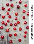 cherry  red cherries | Shutterstock . vector #278181551