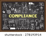 business doodles with the... | Shutterstock .eps vector #278193914