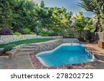 Backyard With Outdoor In Groun...