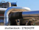 pipes and tubes at a power plant | Shutterstock . vector #27824299