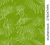 seamless green background with... | Shutterstock .eps vector #278247494