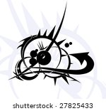 tribal tattoo | Shutterstock . vector #27825433