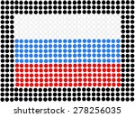 national flag of russia | Shutterstock . vector #278256035