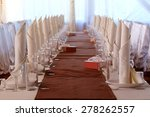 image of a served table at a... | Shutterstock . vector #278262557